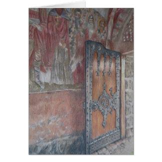 Zica Frescoes and Door Card