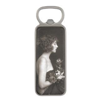 Ziegfeld Chorus Girls Magnetic Bottle Opener