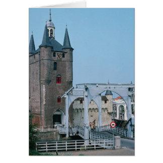 Zierikzee, Zeeland, Netherlands Card
