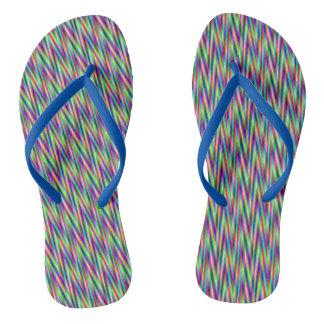 zig and zag flip flops