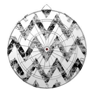 Zig saw Print - black prints blank Black White Dart Board