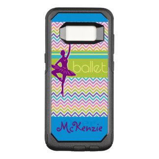 Zig Zag Ballet OtterBox Commuter Samsung Galaxy S8 Case