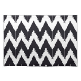 Zig zag bw inc placemat