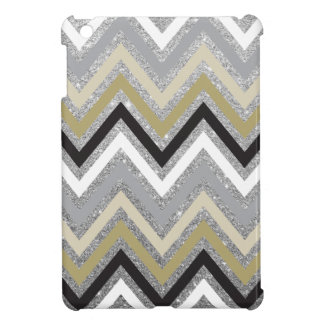 Zig Zag Chevron Pattern Glitters iPad Mini Case