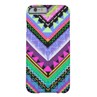 Zig Zag Colorful Pattern Print Design Barely There iPhone 6 Case