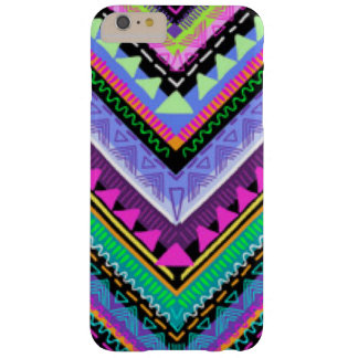 Zig Zag Colorful Pattern Print Design Barely There iPhone 6 Plus Case
