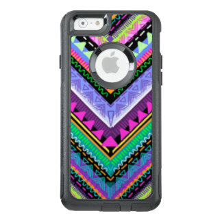 Zig Zag Colorful Pattern Print Design OtterBox iPhone 6/6s Case