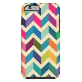 Zig Zag colorful phone case