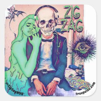 "ZIG ZAG ""Date Night"" Sticker"