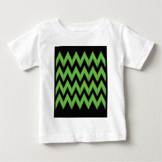 Zig zag green black inc baby T-Shirt