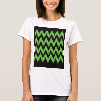 Zig zag green black inc T-Shirt