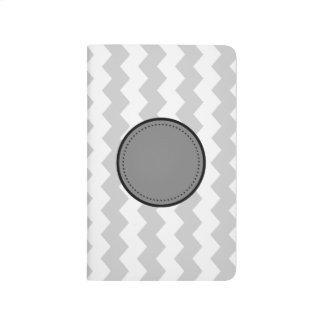 Zig Zag Initial Pocket Journal