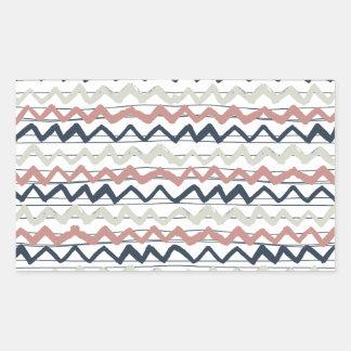 zig zag lines geometric pattern