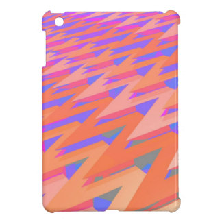 Zig Zag Pastel Abstract Pattern iPad Mini Cover