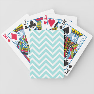 Zig Zag Pattern Bicycle Playing Cards