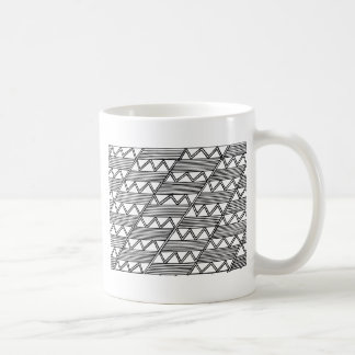 Zig Zag Pattern Coffee Mug