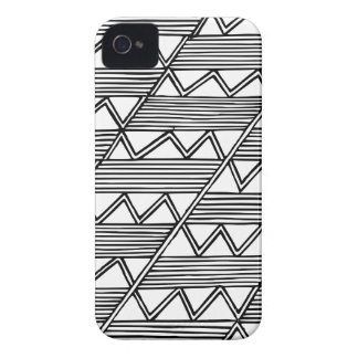 Zig Zag Pattern iPhone 4 Covers