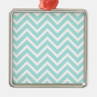 Zig Zag Pattern Metal Ornament