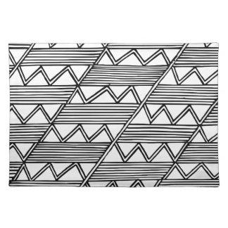 Zig Zag Pattern Placemat