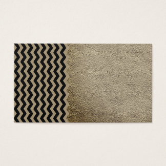 Zig zag pattern tribal design Business Cards