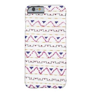 Zig zag patterned phone case