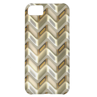 Zig Zag Shimmer iPhone 5C Covers
