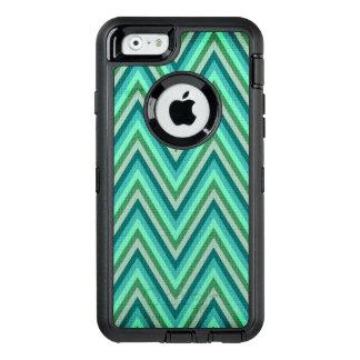 Zig Zag Striped Background OtterBox iPhone 6/6s Case