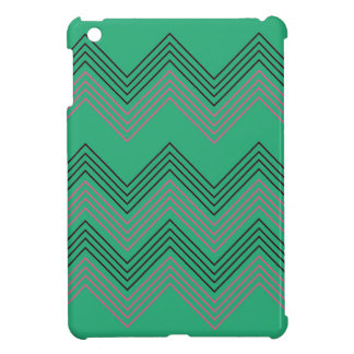 Zig zag vintage 50s stripes iPad mini cases