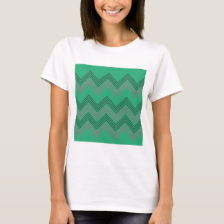 Zig zag vintage 50s stripes T-Shirt