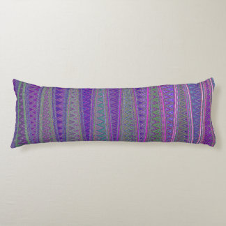 ZIG ZAGGING IN THE FOURTH UNIVERSE BODY PILLOW