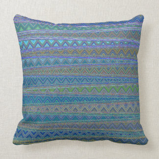 ZIG ZAGGING IN THE THIRD UNIVERSE THROW PILLOW