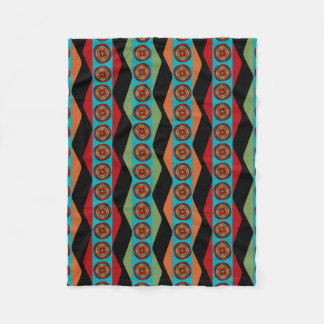 Zig Zags and Circles blanket