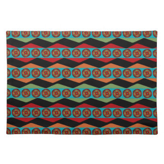 Zig Zags and Circles Placemat