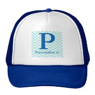 Zig zague trucker hat