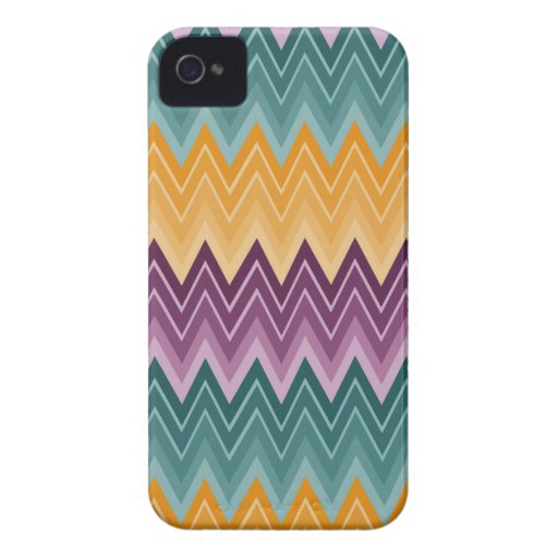 Zig-Zazzle Barely There Case iPhone 4 Case-Mate Cases