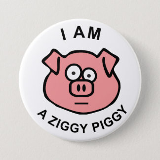 Ziggy Piggy Button