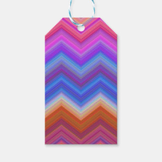 zigzag, colorful, funny gift tags