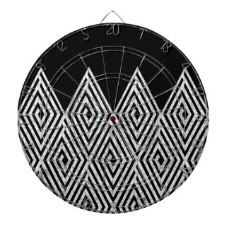 Zigzag Diamond Chevron Tribal pattern Dartboards