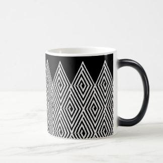 Zigzag Diamond Chevron Tribal pattern Magic Mug