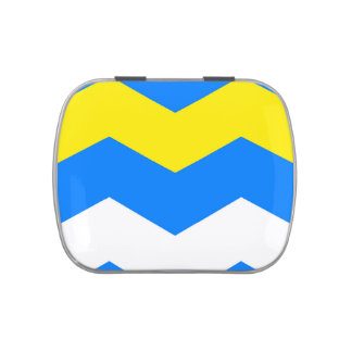 ZIGZAG in Blue & Yellow ~