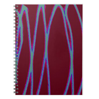 Zigzag Light Writing Notebook