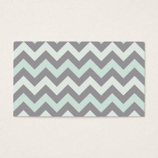 Zigzag pattern business card