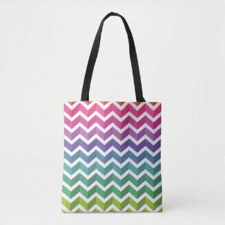 Zigzag Pattern Tote Bag