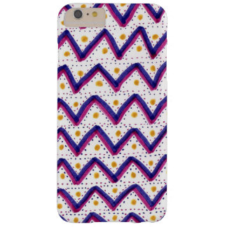 Zigzag patterned barely there iPhone 6 plus case
