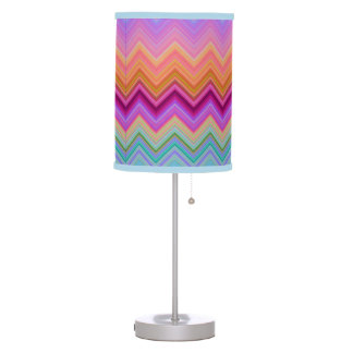 Zigzag Sunset Table Lamp