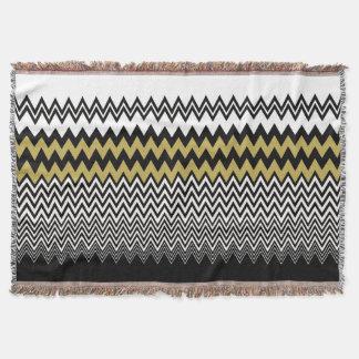 zigzag throw blanket