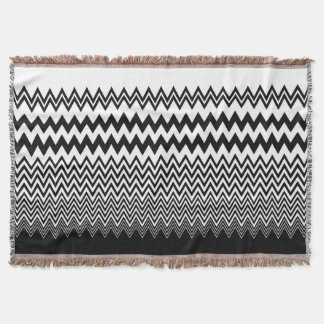 zigzag throw blanket