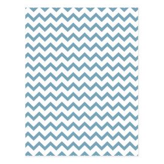 zigzag triangle geometric pattern postcard