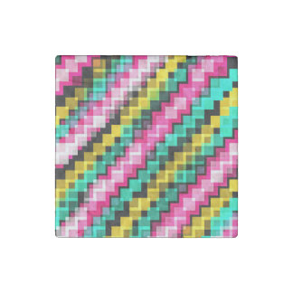 Zigzag Vector Stone Magnets