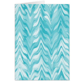 zigzag, watercolor, elegant, stylish card